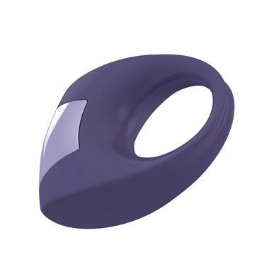 Ovo B8 Эрекционное кольцо, фиолетовый С виброэлементом, стимулирующее клитор