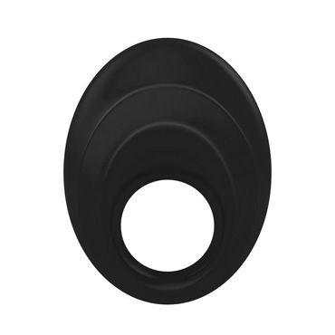 Ovo B5  Эрекционное кольцо, черное С виброэлементом и клиторальным стимулятором