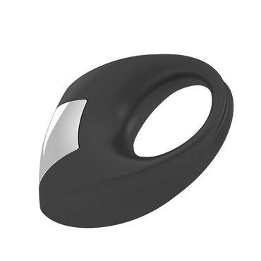 Ovo B8 Эрекционное кольцо, черное С виброэлементом, стимулирующее клитор