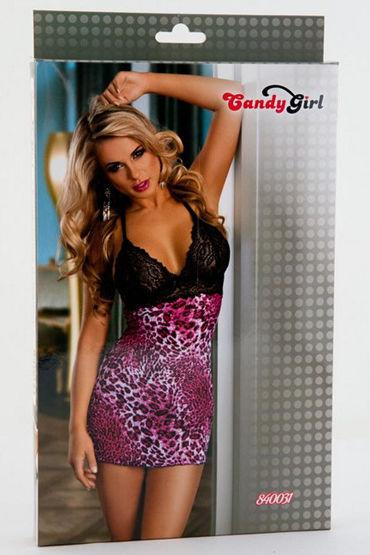Candy Girl Комбинация с кружевным бюстье Стринги в комплекте