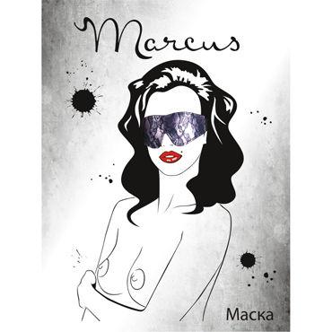 ToyFa Marcus Маска, фиолетовая С кружевной отделкой