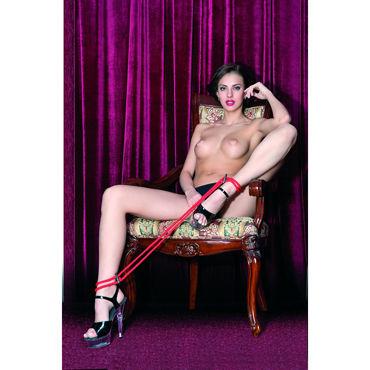 ToyFa Theatre Оковы, красные Из плетеной веревки