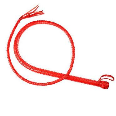 Sitabella плеть Кубанка, красная С силиконовым сердечником