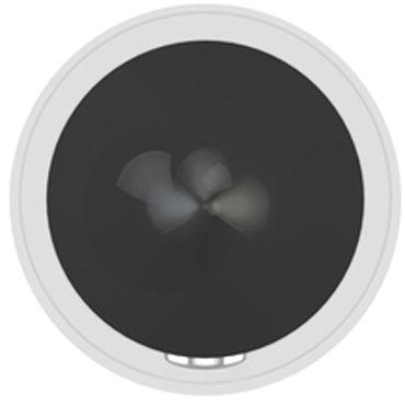 Ovo C1 Мини вибратор, черный С перезаряжаемым аккумулятором