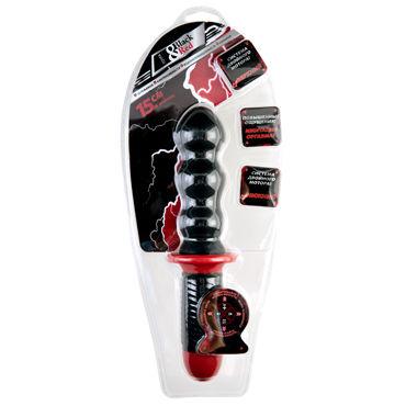 ToyFa Black&Red Вибратор, черный С двойным мотором