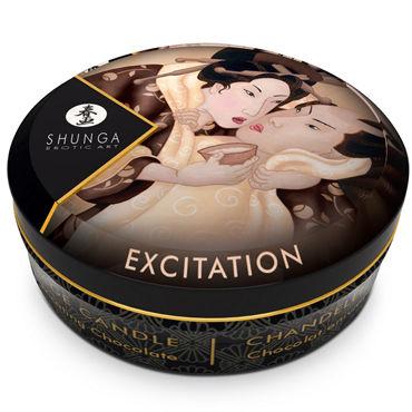 Shunga Massage Candle, 30мл Массажная свеча, пьянящий шоколад