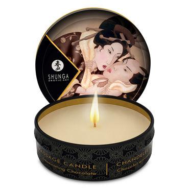 Shunga Massage Candle, 30мл, Массажная свеча, пьянящий шоколад