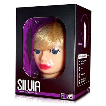 Голова-мастурбатор Silvia Компактного размера