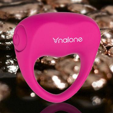 Nalone Ping, розовое Эрекционное кольцо с вибрацией