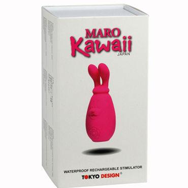 Tokyo Design Maro Kawaii 2 Миниатюрный вибратор с подвижными ушками