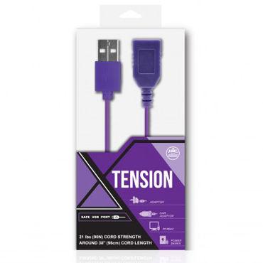 NMC Tension, фиолетовый Удлинитель USB провода