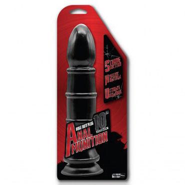 NMC Anal Munition Huge Butt Plug Ребристая, 25 см Анальная втулка