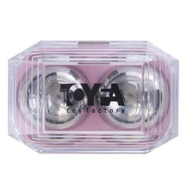 Toyfa вагинальные шарики, 3,5 см Металлические, в коробочке
