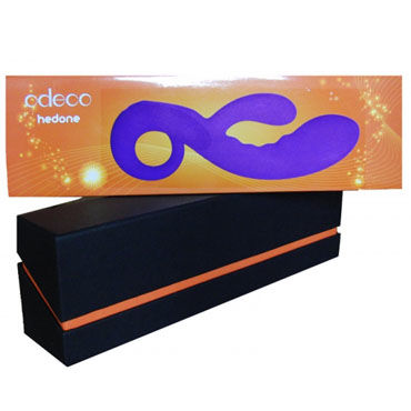 Odeco Cupid, пурпурный Вибратор с клиторальным стимулятором