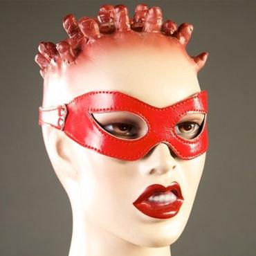 Podium очки, красные, Из лакированной кожи