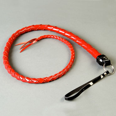 Podium плеть, красная Из лаковой кожи, 60 см