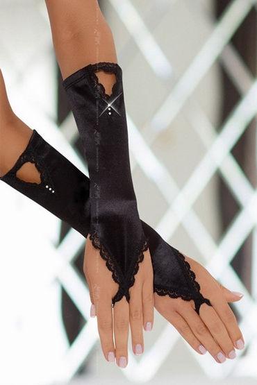 Soft Line перчатки, черные, Изысканный аксессуар - Размер Универсальный (XS-L) от condom-shop.ru
