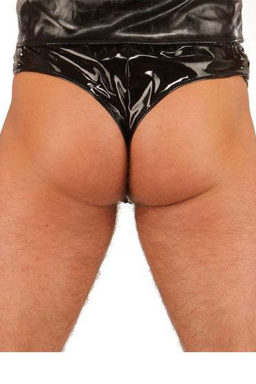 Ledapol трусы, черные Мужские, с сетчатой вставкой в области гениталий