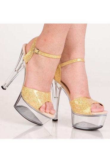 Erolanta туфли С золотистыми блестками