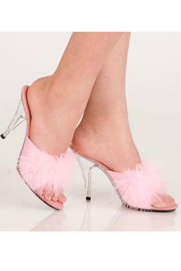 Erolanta туфли, розовые С пушком