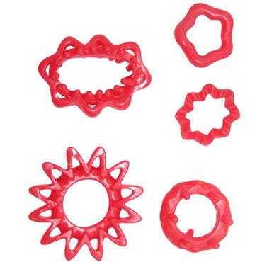 Dream toys набор, Из пяти эрекционных колец