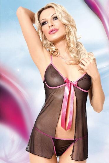 Soft Line комплект С розовым бантом