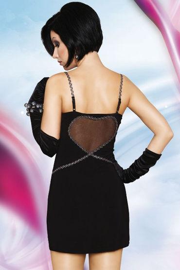 Soft Line платье На бретельках, с сердечком