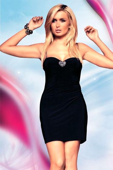 Soft Line платье, На бретельках, с сердечком - Размер S-M