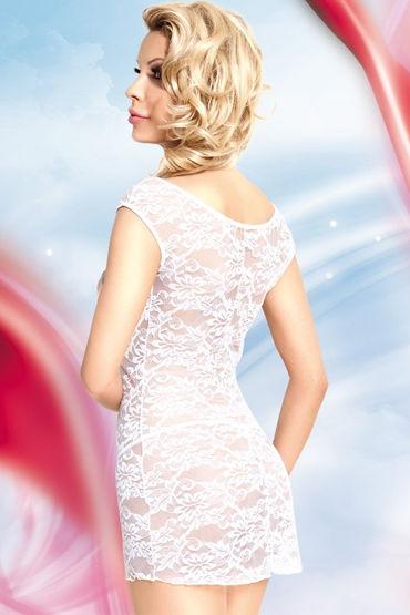 Soft Line комбинация, белая Сорочка с цветочным кружевом