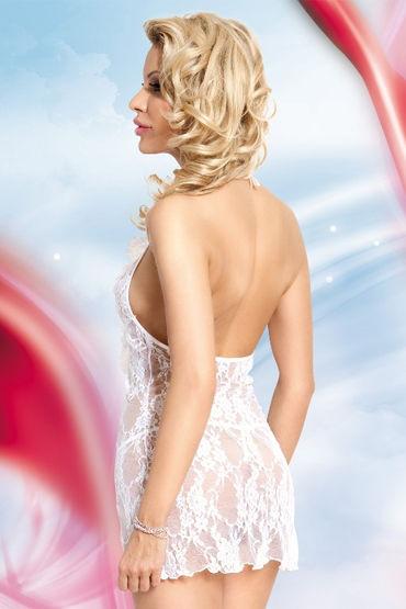 Soft Line Carmen, белый Кружевная сорочка и стринги