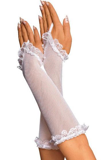 Roxana перчатки, В сеточку, с кружевом - Размер Универсальный (XS-L)