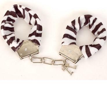Toyfa наручники Черно-белые