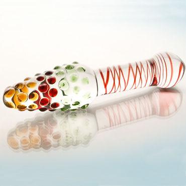 Sexus Glass фаллоимитатор, Стильный, выполнен из стекла