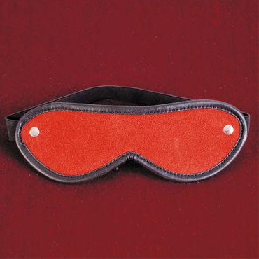 Toyfa-leather маска, красно-черный Из натуральной кожи