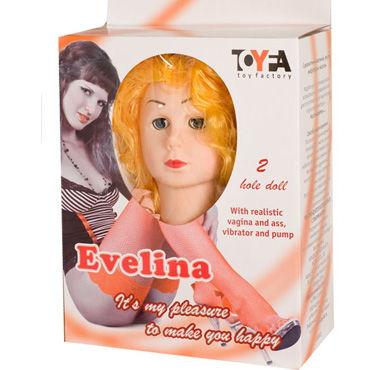Toyfa кукла Эвелина С реалистичными формами и виброэлементом
