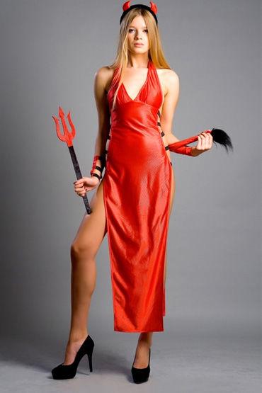 Flirt On Sexy Devil, Секси наряд для жарких игр - Размер XS-S от condom-shop.ru