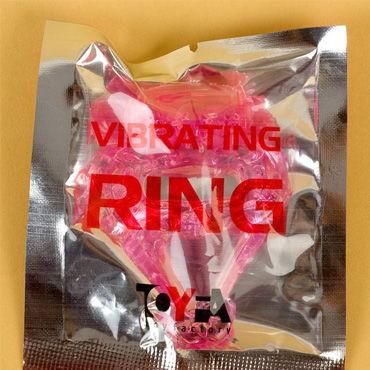 Toyfa кольцо, розовое С вибрацией