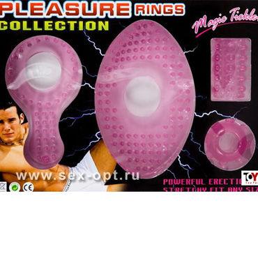 Toyfa набор Эрекционные кольца на пенис