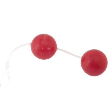 Toyfa шарики, красные Вагинальные, силикон