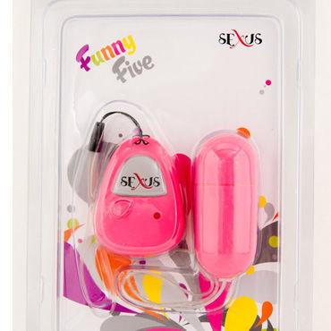 Sexus Funny Five виброяйцо розовое С дистанционным управлением