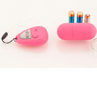 Sexus Funny Five виброяйцо розовое, С дистанционным управлением