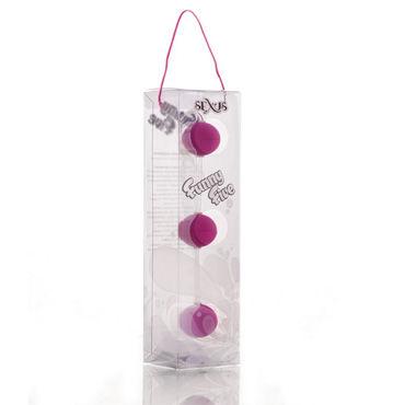 Sexus Funny Five шарики, фиолетовые Для стимуляции анальных мышц