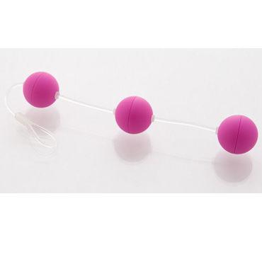 Sexus Funny Five шарики, фиолетовые, Для стимуляции анальных мышц