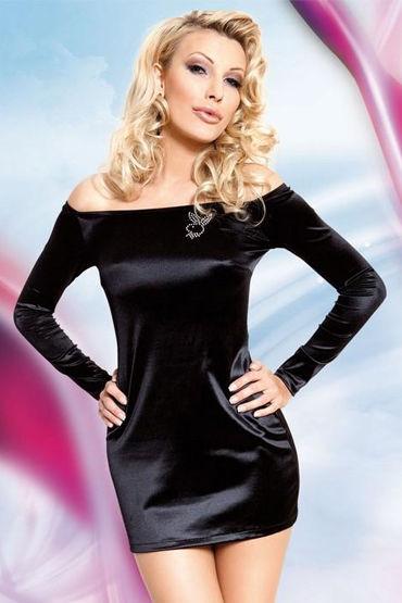 Soft Line платье, С открытыми плечами, длинный рукав - Размер S