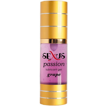 Sexus Passion Grape, 30 мл, Увлажняющая гель-смазка с ароматом винограда