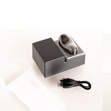 Toyfa виброяйцо, 3 см, черное Эргономичное, изысканный дизайн