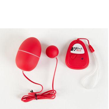 Toyfa вибронабор, красный, Шаровидной и яйцевидной формы, с пультом ДУ