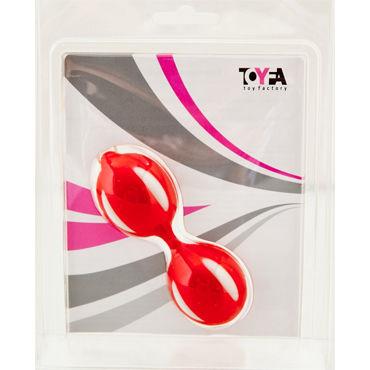 Toyfa вагинальные шарики, красные Рельефной формы