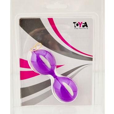 Toyfa вагинальные шарики, фиолетовые Рельефной формы