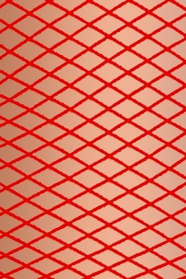 Erolanta платье, красное Из мелкой сеточки